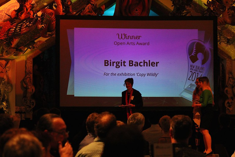 Birgit Bachler wins the arts award