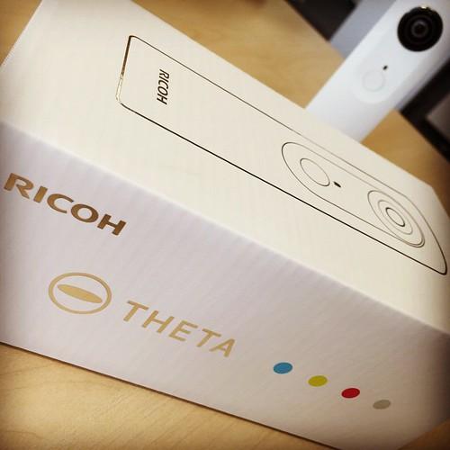 Ricoh Theta m15 white | #theta360
