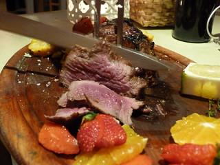 Carne roja de la Tasca do Celso (Vila Nova de Milfontes, Alentejo)