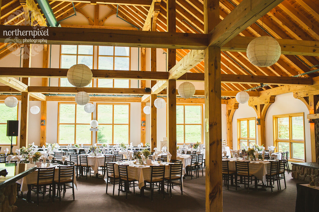 Mount Norquay Resort Wedding Reception