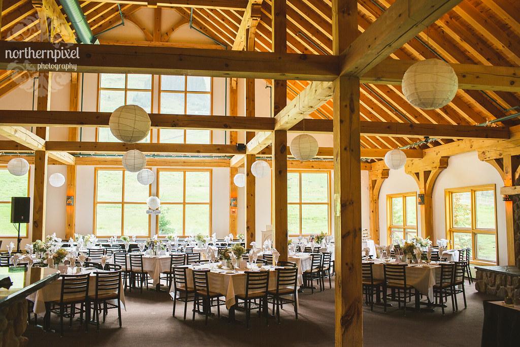 Mount Norquay Resort Wedding Reception