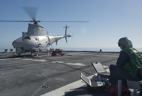 First Manned, Unmanned Detachment Deploys Aboard Littoral Combat Ship