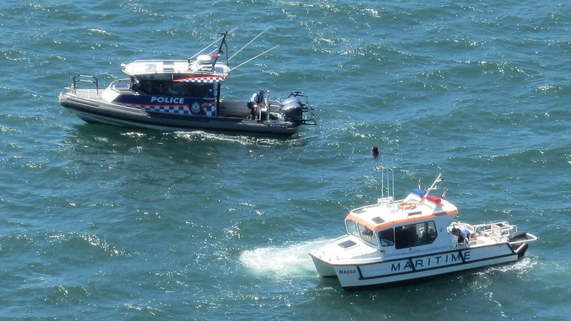 Sydney Harbour: water police