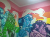 Asuncion, community center SOMOSGAY, graffiti by OZ