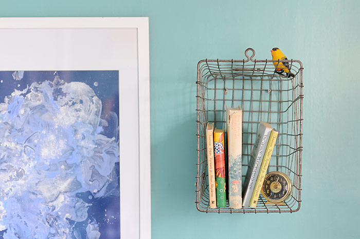 Colors of Our Home: Turquoise Walls