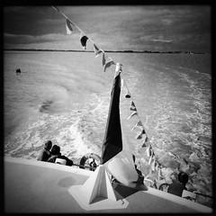 Love boat #B&W #landscape #sea