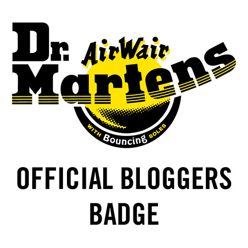 Dr Martens Blogger Badge