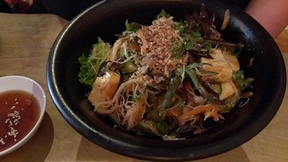 Cold Rice Noodle Salad at Yong Green Food