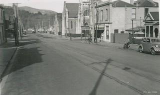 Howe Street, near corner of Great King Street 1952