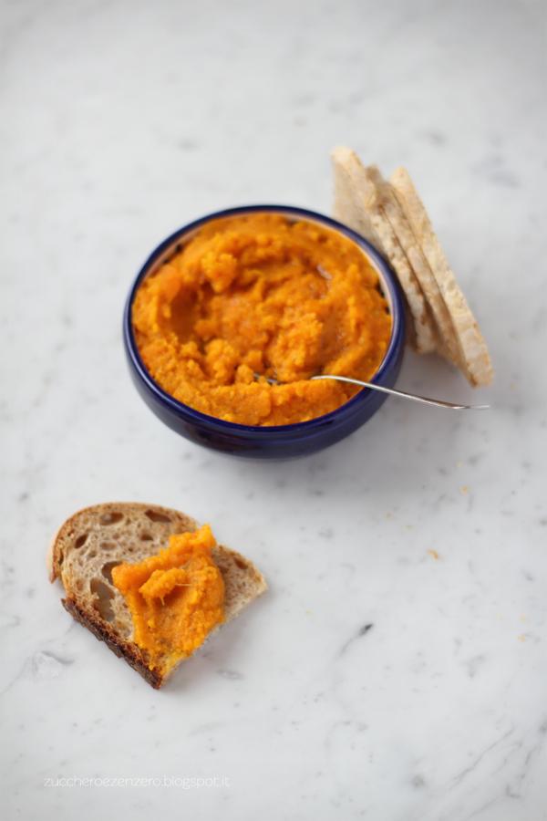 Dip di carote alla marocchina