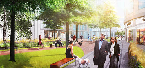 Brookline Place Renderings