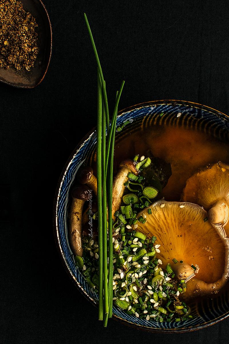 Sopa Miso con shiitake y wakameso-3