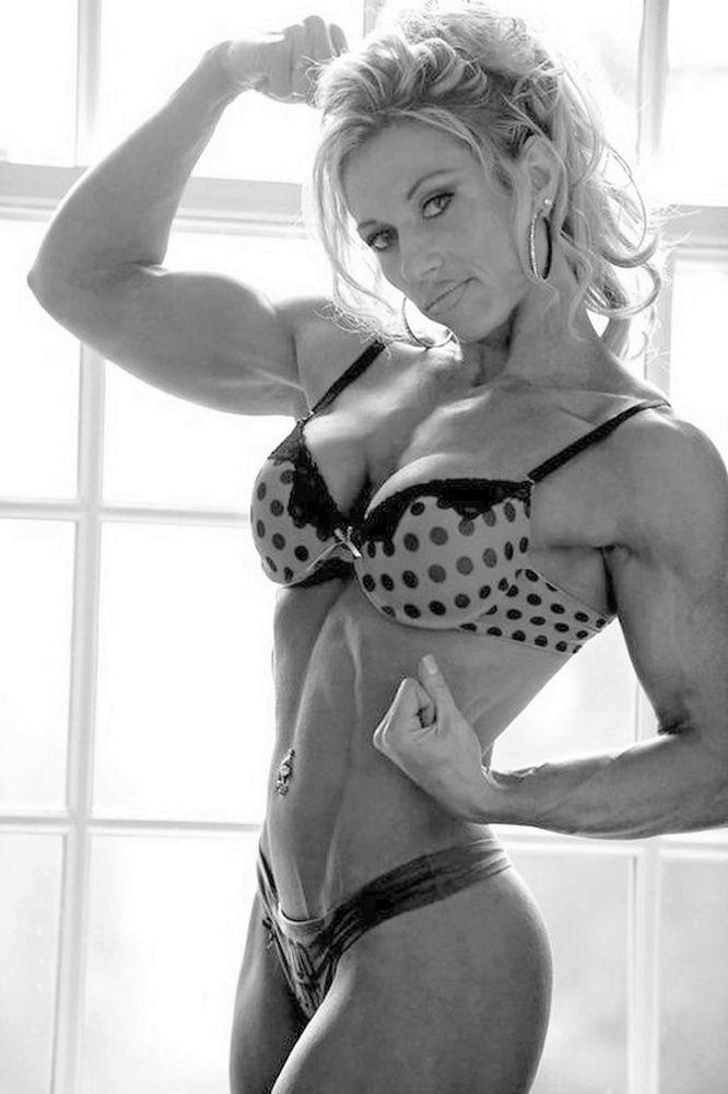 Hot black female fitness models