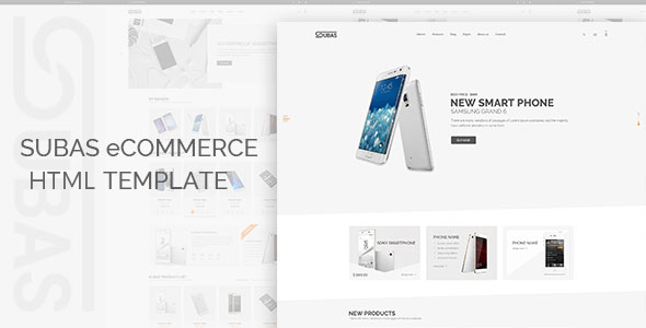 Subas v1.0 – Electronics eCommerce Bootstrap Template