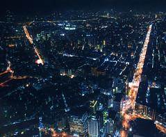 Taipei 101 Night scene, Taipei City