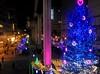 Christmas in Tokyo: Tachikawa monorail line