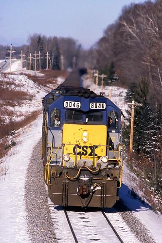 CSX 8046 Sauntry