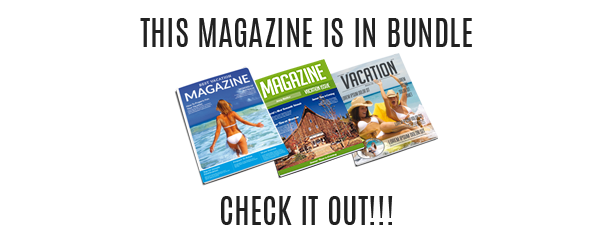 Vacation Magazine Template
