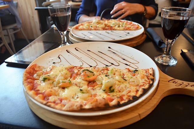 Onassis Pizza, Luzzo Pizzaria, Lisbon, Portugal