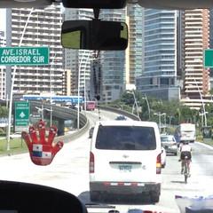 Las calles de Ciudad de Panamá me recordaron un poco a Viña, por lo estrechas y llenas de vehículos