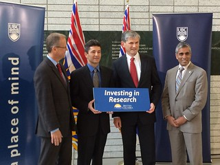 UBC receives $26.9 million for 70 research projects