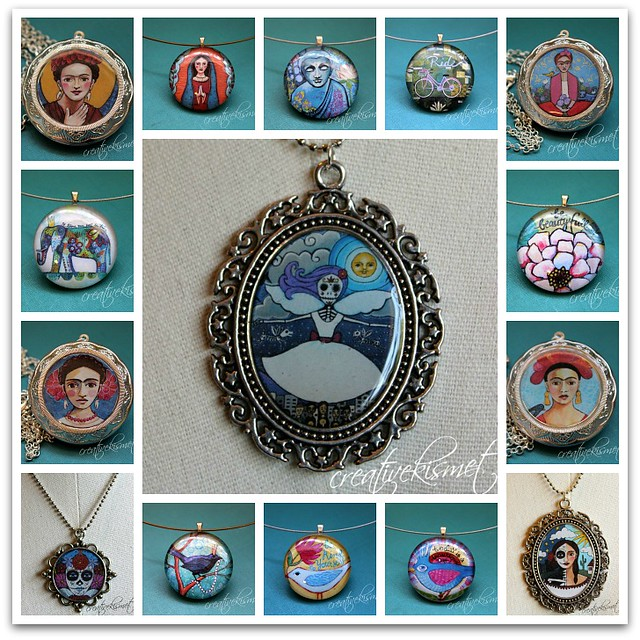 creative kismet art pendant jewelry