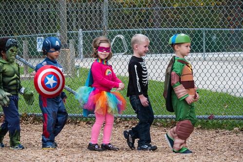 Preschool Halloween singing