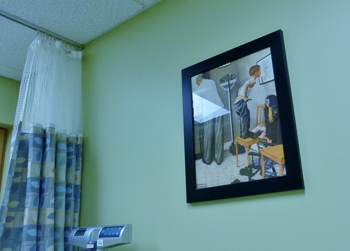 Doctor's office decor