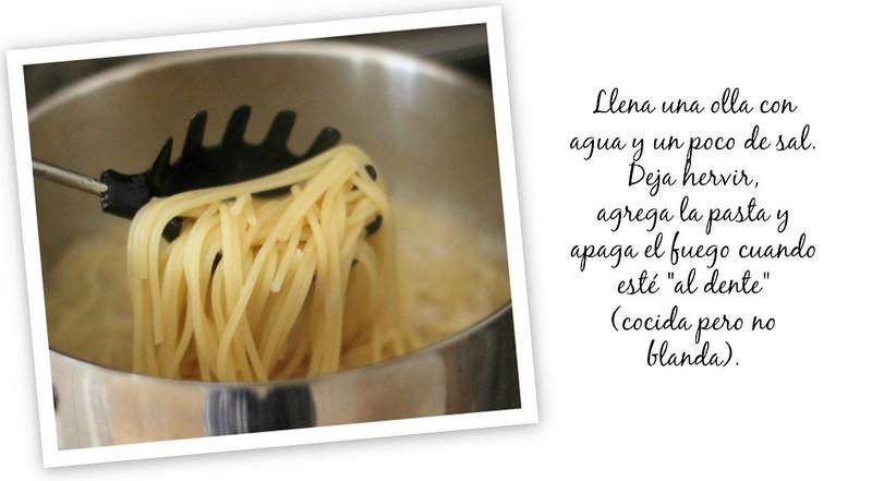 espagueti con ajo y aceite #ChooseSmart