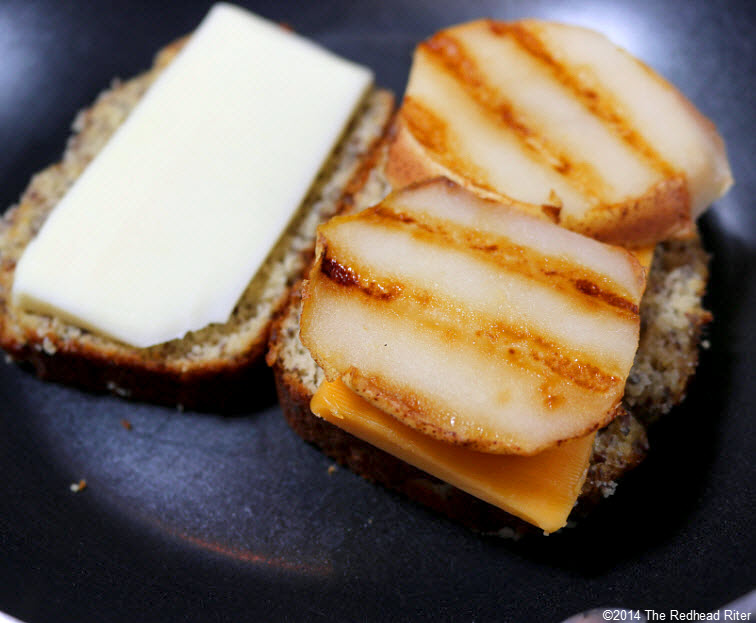 10 Grain Free Grilled Cheese Pear Sandwich recipe