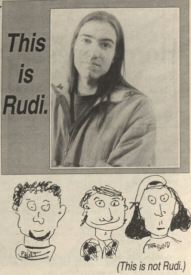 My mugshot from the Connecticut College Voice, 1995 - oh, the hair...