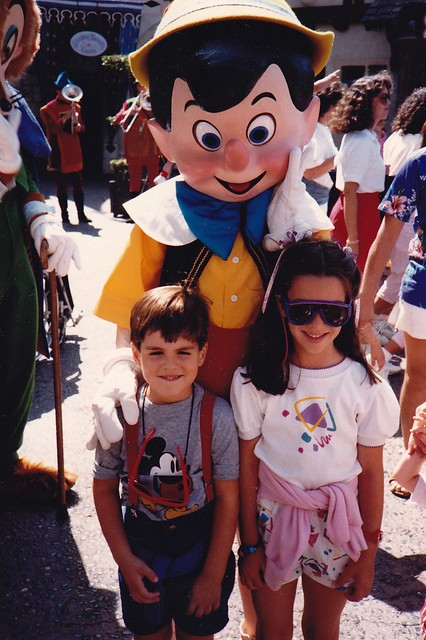 Anthony and me at Disneyland