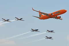Mango & Silver Falcons Formation - 2014 Waterkloof Airshow