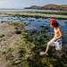 Whitesands, près de Saint David's, Pembrokeshire, pays de Galles