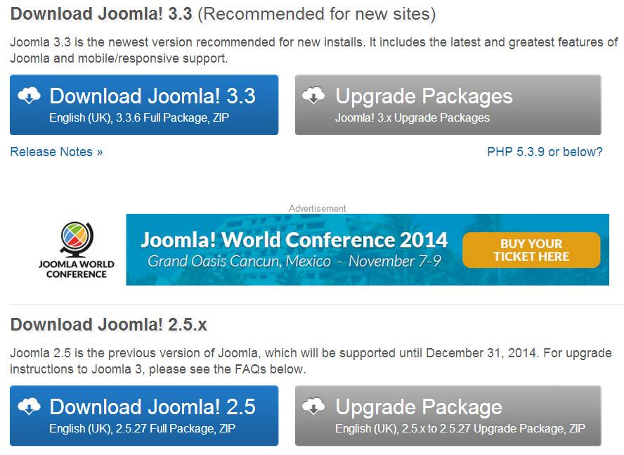 Joomla 2.5 & 3.x