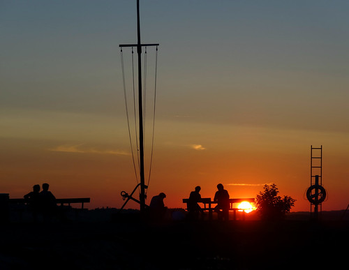 sunset silhouette hjarbæk challengeyouwinner herowinner