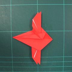 วิธีพับกระดาษเป็นรูปแมลงปอ (Origami Dragonfly) 018