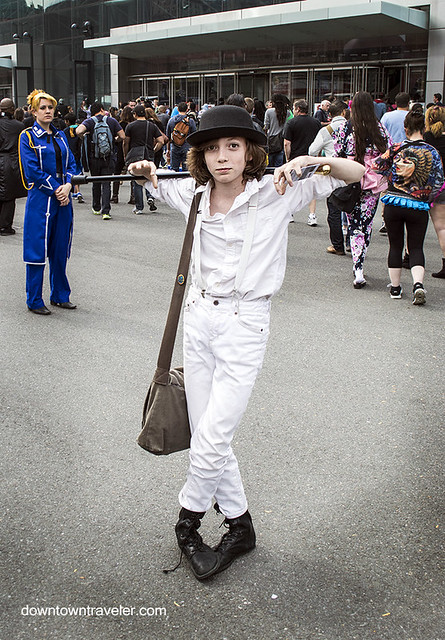 NY Comic Con 2014 Clockwork Orange