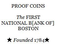 FNB of Boston Lucite cube text