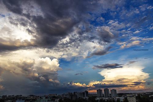 sunset clouds bangalore sunsets 2014 kudlu sunsetinindia sunsetinbangalore bangaloresunset 2014clouds