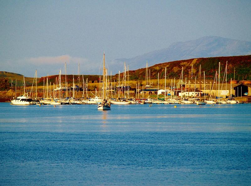 Isle of Kerrara Marina, Oban, Scotland