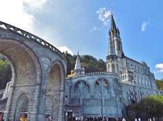 Basilica of Immaculate Conception, Sanctuary of Our Lady of Lourdes, Lourdes, France