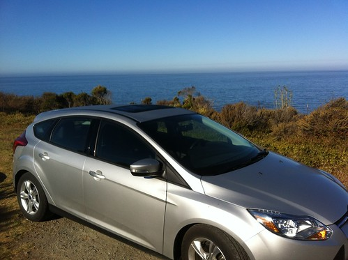 My Trusty Steed on the Pacific Coast Highway