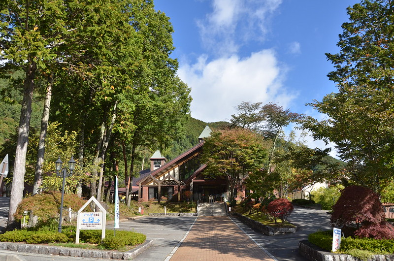紅葉と青空の秋の長野旅行 駒ヶ根 2014年10月14日
