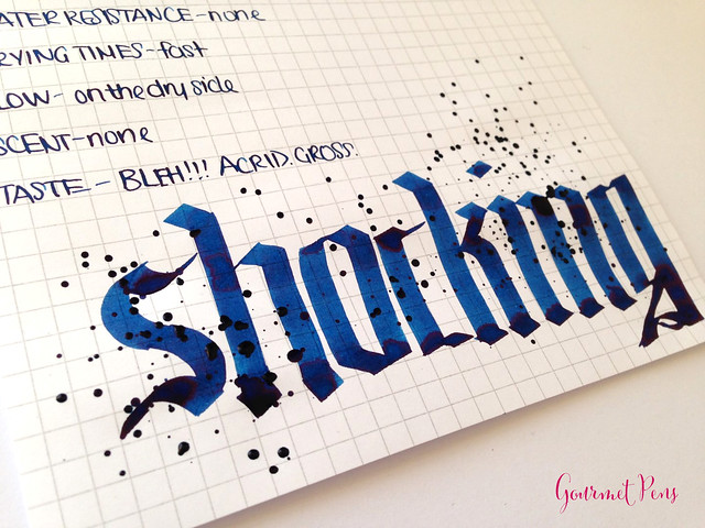 Review: P.W Akkerman Shocking Blue Ink