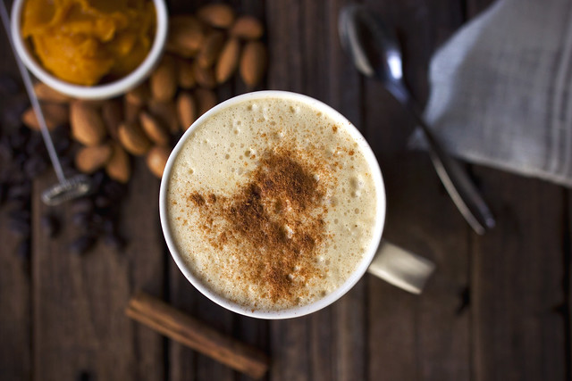 Pumpkin Spice Latte {Vegan}