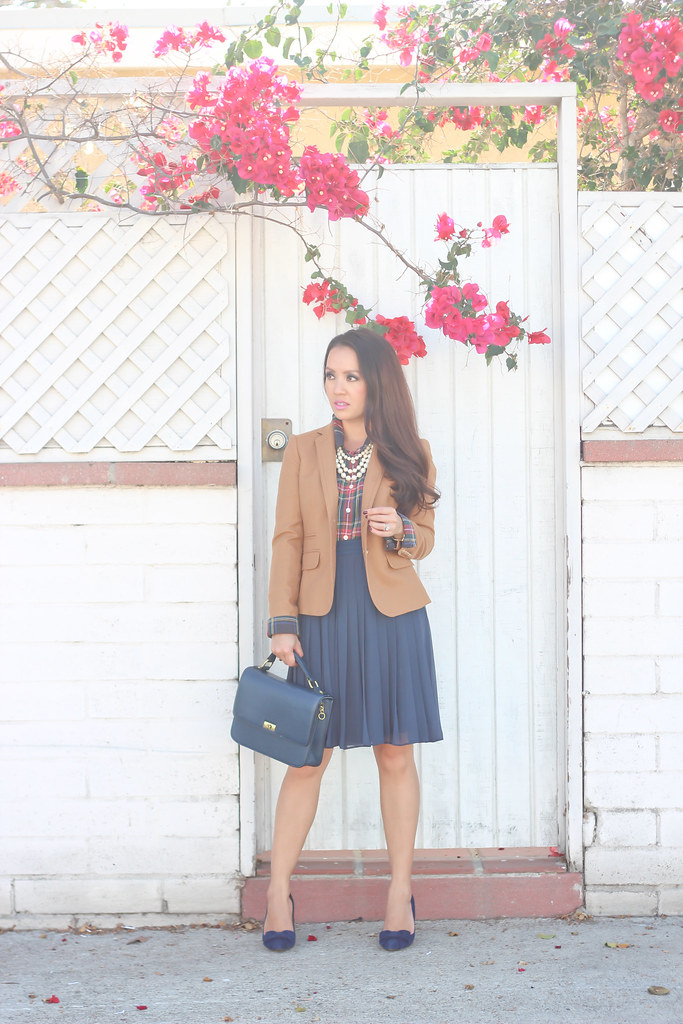 Plaid, Pearls and Pleats-7