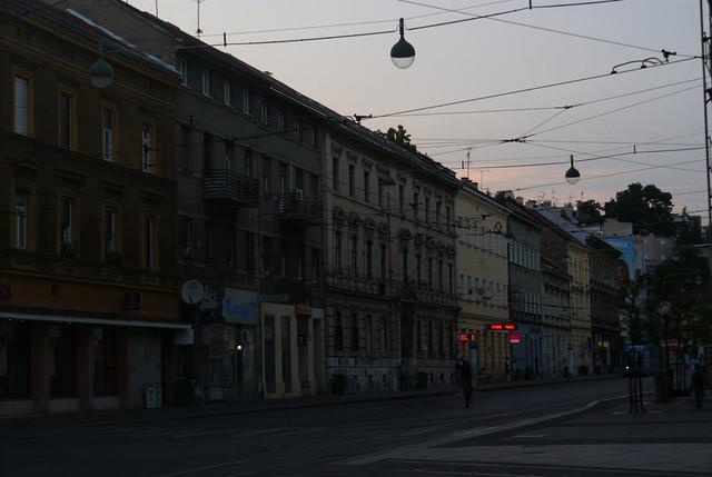 Zagreb al atardecer