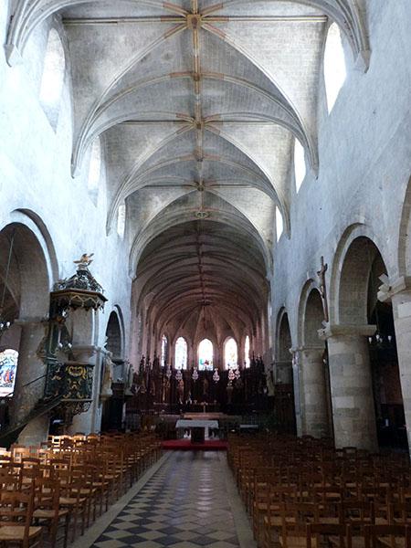 voûte église jargeau