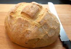 baking, beer bread, rye bread, baked goods, food, soda bread, sourdough,